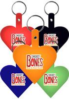 Heart Flexible Key Tags   EM522