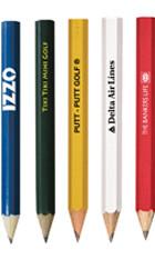 Hex Golf Pencils