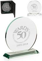 Round Glass Awards | DMAW32