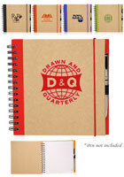 Recycled Square Notebooks   NOT43