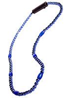 LED Light-Up Beaded Blue Necklaces   WCLIT491