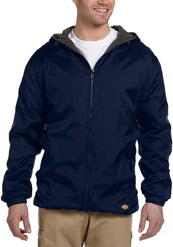 Hooded Nylon Jackets