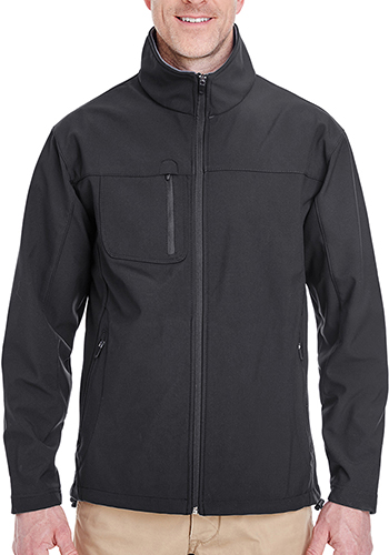 UltraClub Adult Soft Shell Jackets with Cadet Collar | 8280