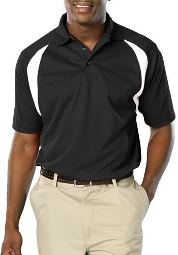 Raglan Wicking Polo Shirts