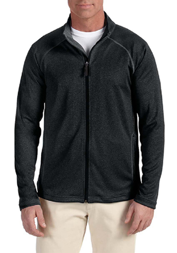 Devon & Jones Men's Stretch Shell Full-Zip Jackets | DG420