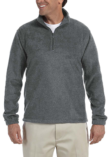 Harriton Quarter-Zip Fleece Pullover Jackets   M980