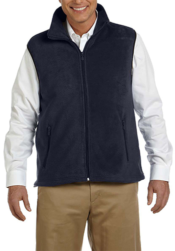 Custom fleece vest