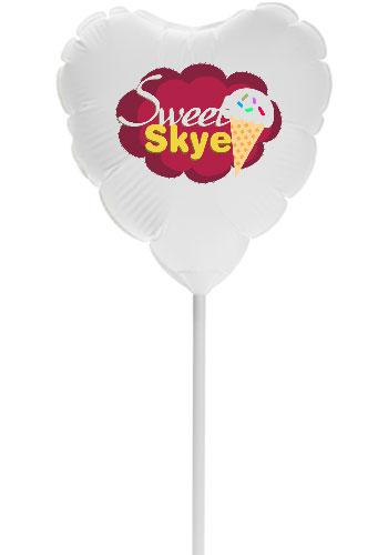11 Inch Heart Balloons  PB11HB1