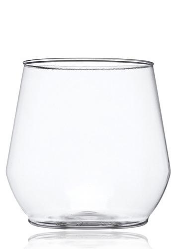 Custom 14 oz. Plastic Stemless Wine Glasses