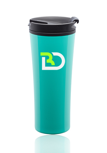 16 oz. Asana Travel Mugs with Silicone Seal | TM366