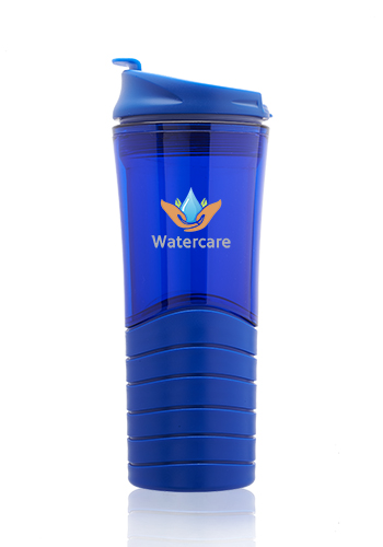 16 oz. Dunes Double Wall Plastic Travel Mugs | TM363