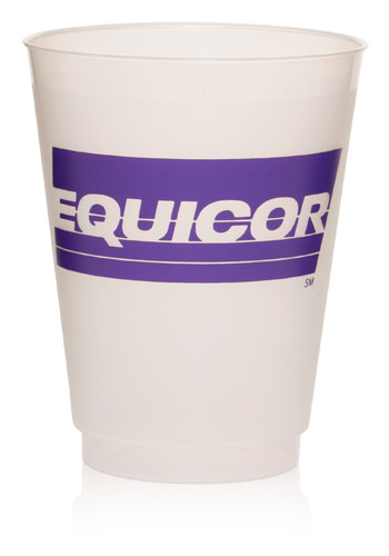 16 oz. Frosted Plastic Party Cups | DC16PF