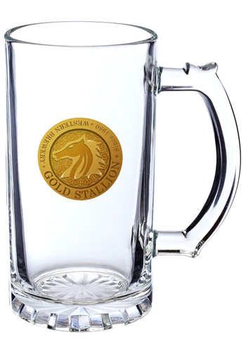 Glass Pint Beer Steins