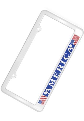 2 Holes License Plate Frames | AK8040001