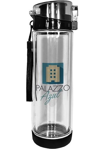 20 oz. Full Color Double Wall Tritan Glass Bottles| AK8068220