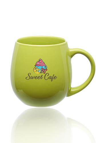22 oz. Buddha Round Custom Coffee Mugs | 5015
