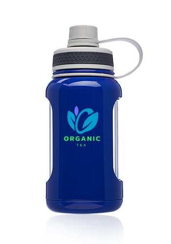 22 oz. Exhibition Glass Water Bottles with Silicone Sleeve | WB336