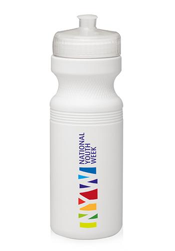 White Bike Water Bottles