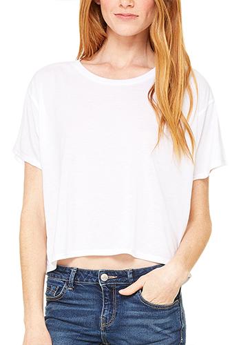Bella Canvas Ladies' Flowy Boxy T-Shirts | B8881
