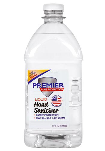67.6 oz Premier Pure Hand Sanitizer Liquid Refill | HCH339