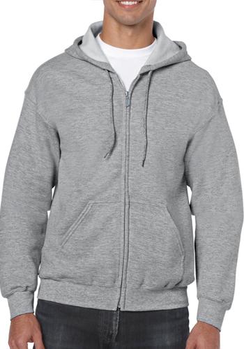 Zippered Hooded Sweatshirts