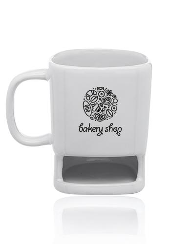 7 oz. Poppy Cookie Holder Custom Mugs | CM8009