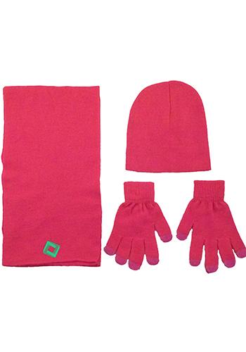 Acrylic Knit Beanie Sets