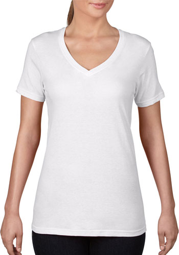 ANVIL Women's Featherweight V-Neck Tees | AN392