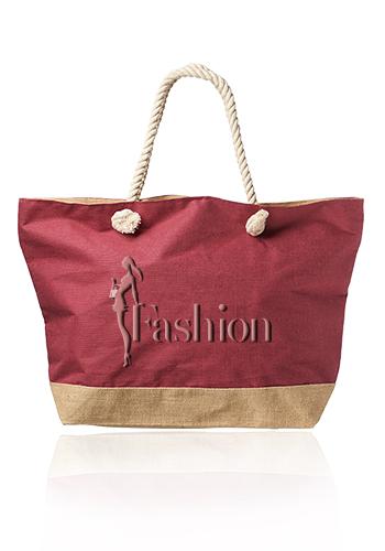 Custom Atlas Large Juco Beach Bags