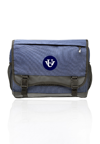 Long Haul Heathered Messenger Bags | MB033