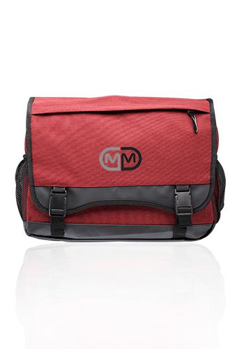 Custom Long Haul Heathered Messenger Bags |