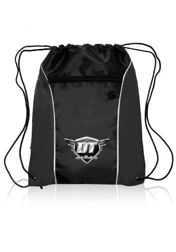 Side Color Drawstring Backpacks