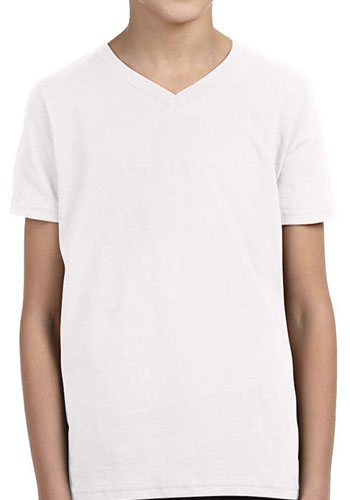 Bella Canvas Youth Jersey V-Neck T shirts | 3005Y