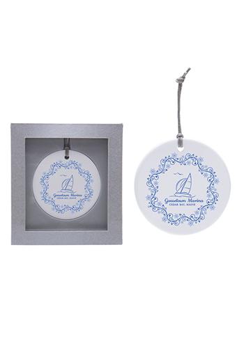 Ceramic Ornaments   IL1793CIRCLE