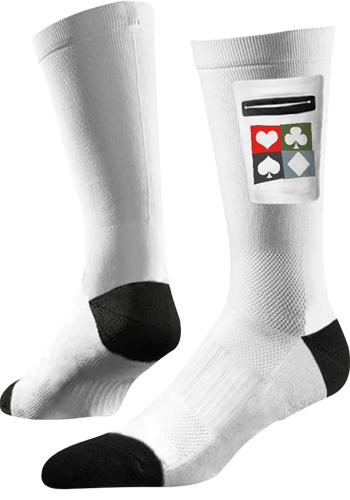 Classic Utility White Crew Socks   SL3CRWPKT