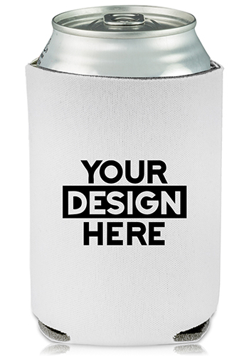 Collapsible Can Coolers I Heart You Print    KZ494