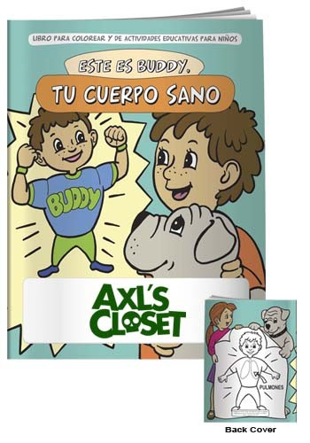 Coloring Books: Buddy Healthy Body in Spanish   X11120