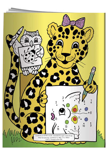 Coloring Books: Connect-the-Dots   X11097