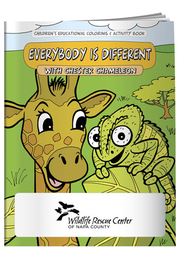 Coloring Books: Everybody is Different   X11102
