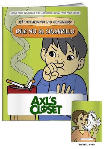 Coloring Books: Say NO to Smoking in Spanish   X11119