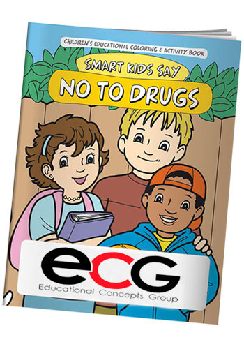 Coloring Books: Smart Kids Say No To Drugs | X10984