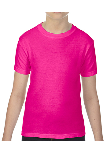 Custom Comfort Colors 5.4 oz Cotton Youth Tees
