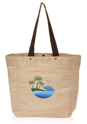 Cotton Jute Tote Bags