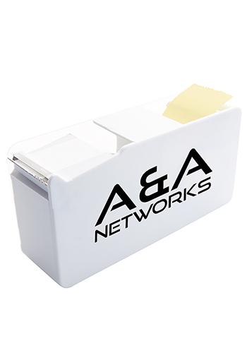 ABS Plastic Double Memo Tape Dispensers | X30129