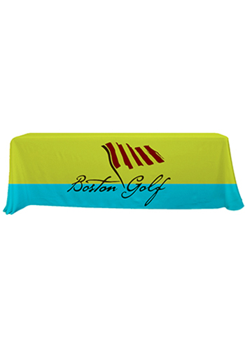 8 ft. Dye-Sublimated Economy Table Throws | SHD106022