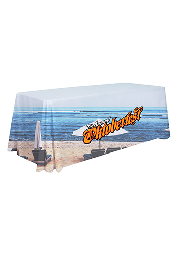 6 ft. Dye-Sublimated Standard Table Throws   SHD109010
