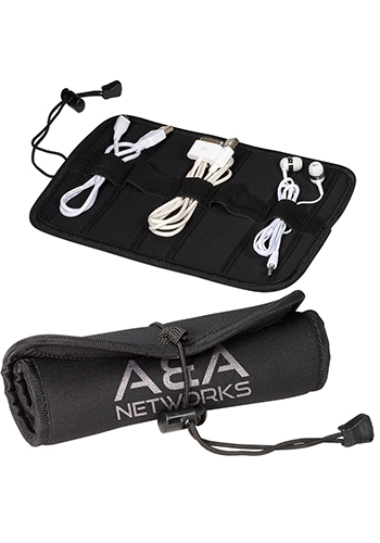 Neoprene Roll-Up Tech Cases with Cord Closure   PLLT3041