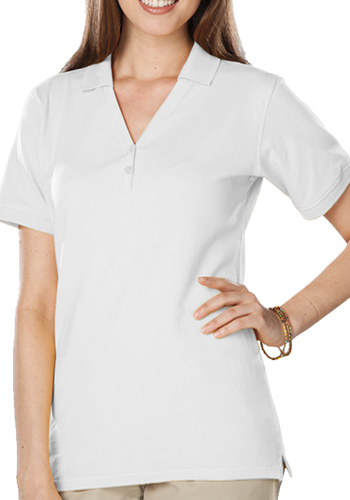 Blue Generation Ladies Soft Touch S/S Y-Placket Polo Shirts   BGEN6505