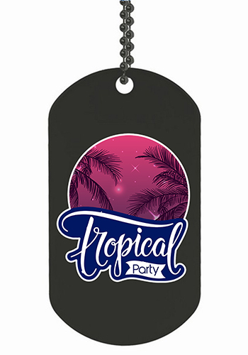 Express Vibraprint Double Sided Dog Tags | SISLDT1DS