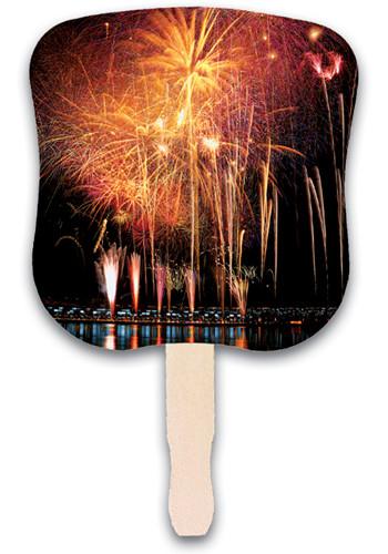 Fireworks Hand Fans   AK33057